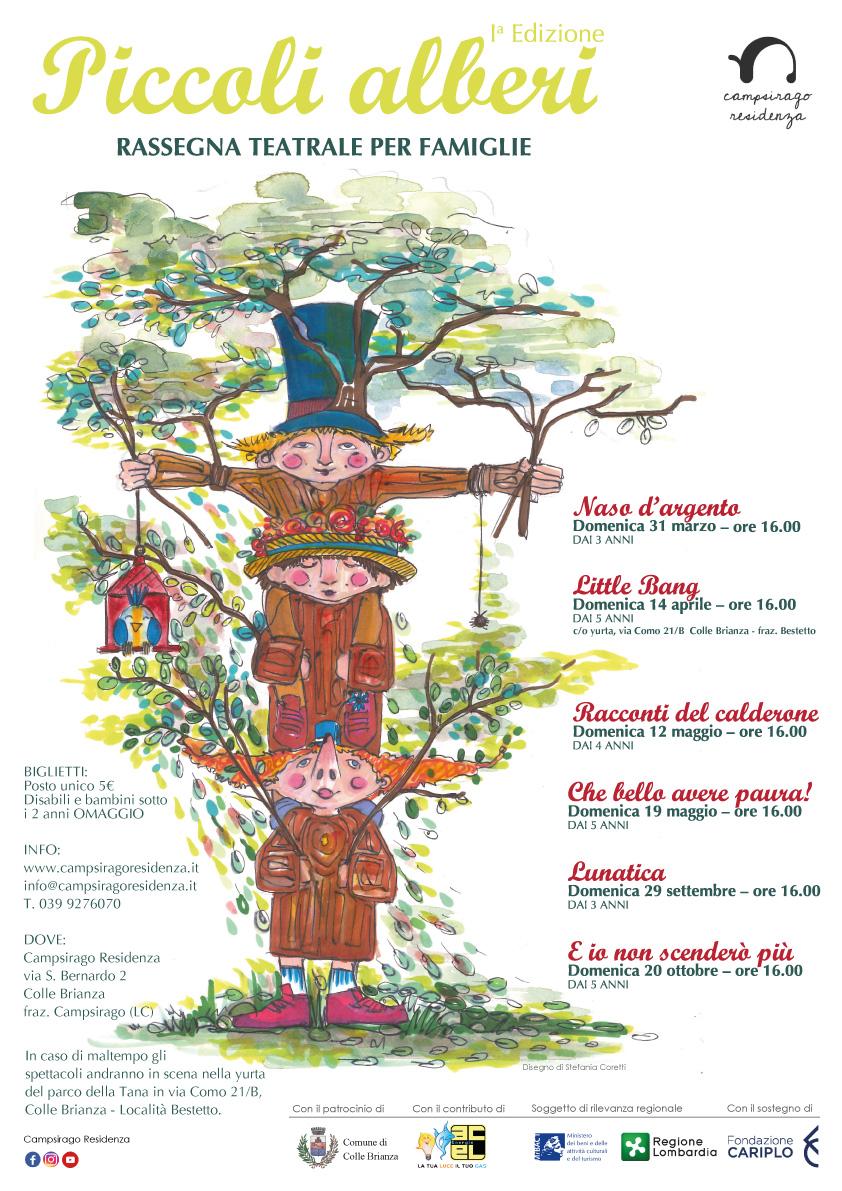 Piccoli alberi Campsirago Residenza
