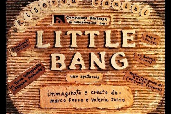 Little bang teatro figura ragazzi riserva canini