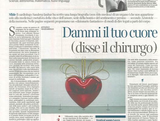La Lettura / Corriere della Sera - 1 settembre 2019