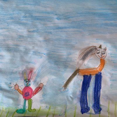 unicorno e coniglio2